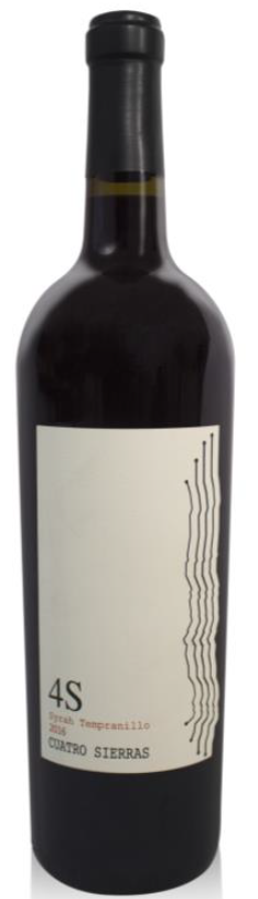 4S SYRAH TEMPRANILLO 750 ML.