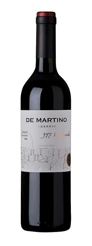 DE MARTINO 347 VINEYARDS RESERVA CABERNET SAUVIGNON 750 ML.