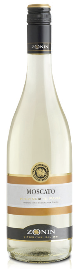 ZONIN MOSCATO IGT PAVIA REGIONS COLLECTION 750 ML.