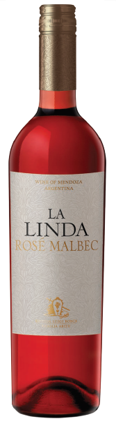 LA LINDA ROSE MALBEC 750 ML.