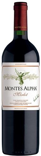 MONTES ALPHA MERLOT 750 ML.