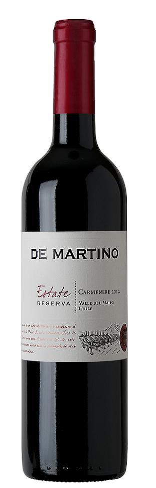 DE MARTINO ESTATE RESERVA CARMÉNERE 750 ML.