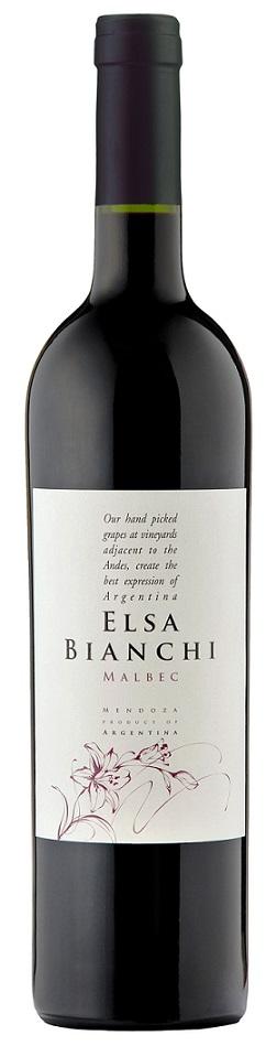 ELSA BIANCHI MALBEC 750 ML.