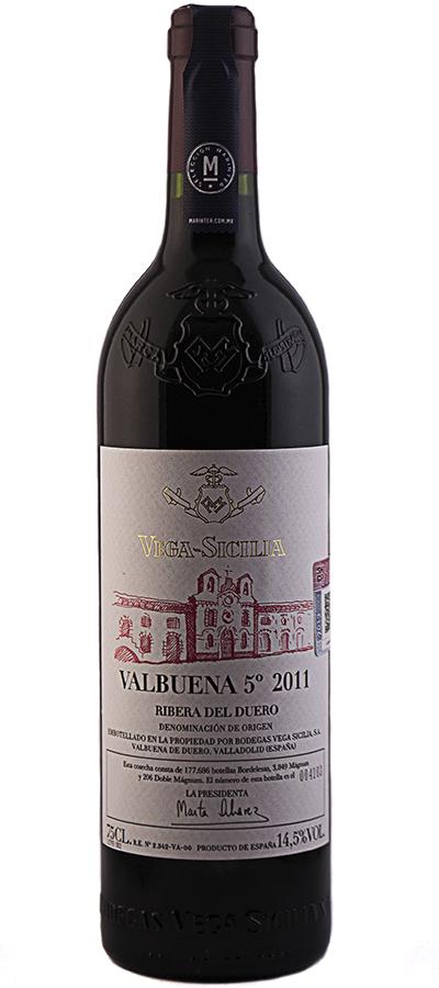 VEGA SICILIA 5 VALBUENA 750 ML.
