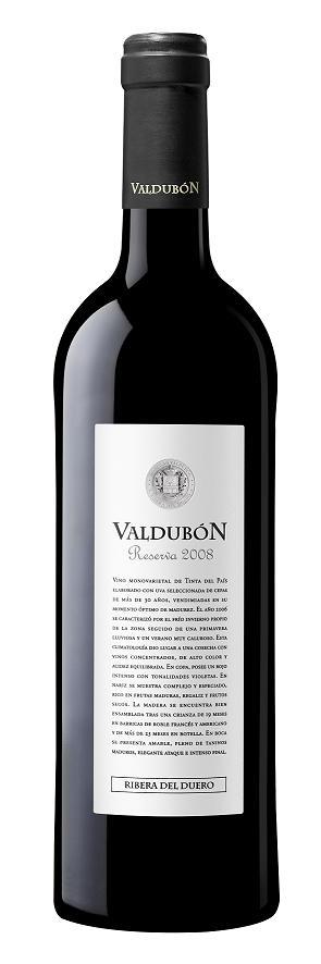 VALDUBON RESERVA 750 ML.